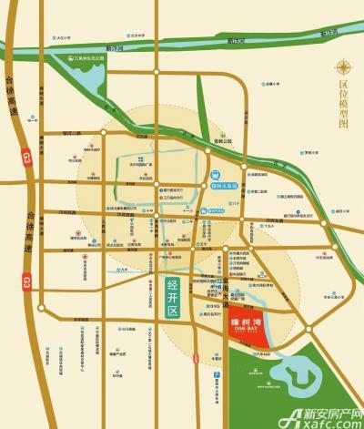 乐泽鑫城华纳橡树湾交通区位图
