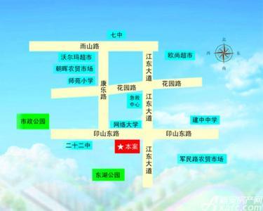 东湖碧水湾48号交通图