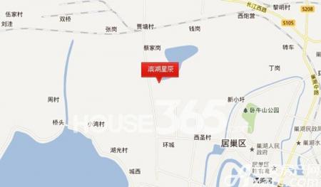 滨湖星辰交通图
