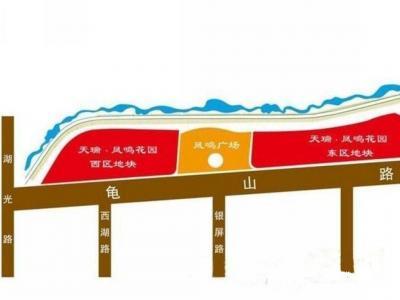 天瑞凤鸣花园项目周边交通图