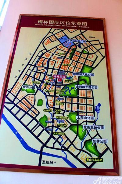 梅林国际梅林国际区位图