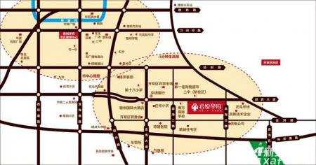 君悦学府交通图