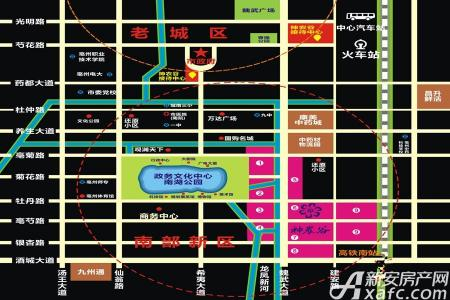神农谷中药电商物流城交通图