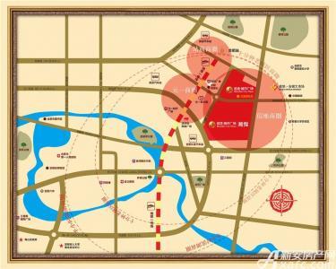 信地城市广场藏龙交通图