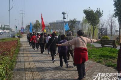 和顺名都城和顺名都城杯迎新春健步走活动