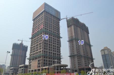 汇金广场工程进度