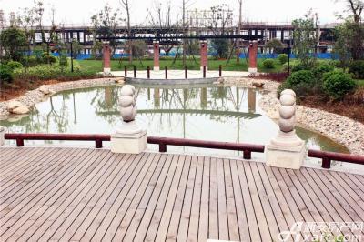 柏庄香域柏庄香域湖边风景