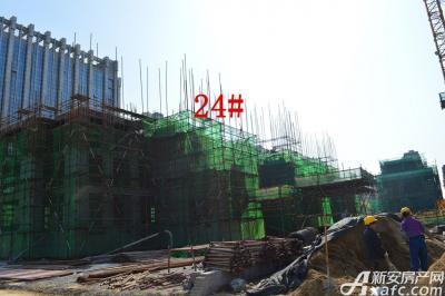 迎春颐和城2015年4月  24#工程进度