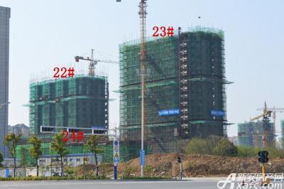 迎春颐和城2015年4月  22# 23# 24#工程进度