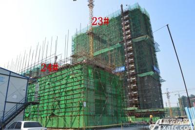 迎春颐和城2015年4月 23# 24#工程进度
