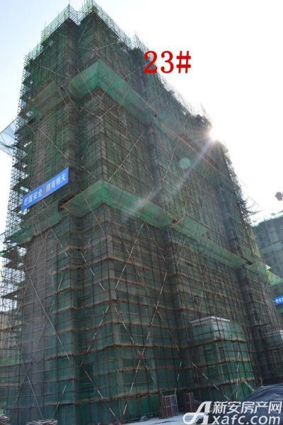 迎春颐和城2015年4月 23#工程进度