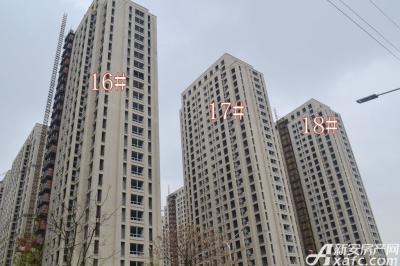 秀山信达城16#17#18#楼工程进度(2016-4-16)