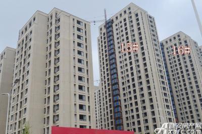 秀山信达城16#15#楼工程进度(2016-4-16)