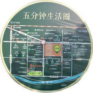 世贸绿洲交通图