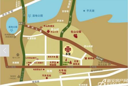 徽商·江南世家交通图