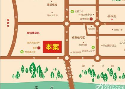 西城公馆交通图