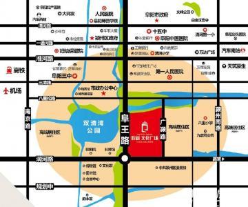 皖新文化广场交通图