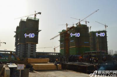 宿州万达广场宿州万达广场5月项目进度 三区最高建至29层