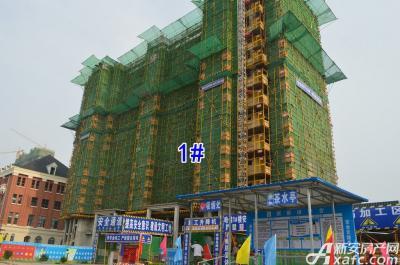 万成·哈佛玫瑰园万成哈佛国际5月项目进度 最高建至地上12层