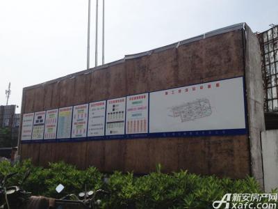绿地滨江壹号绿地滨江壹号5月工程现场