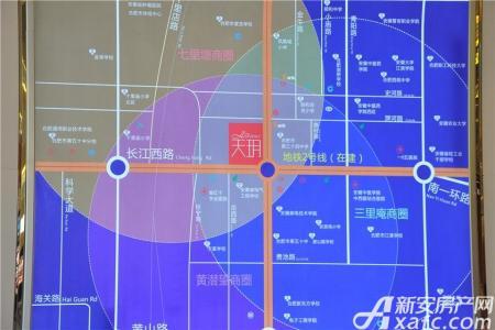 天玥中心交通图