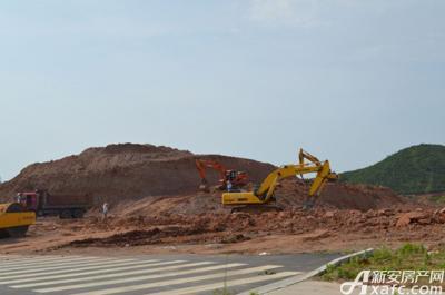 公园里项目地 项目进度 2015-05