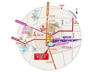 芜湖镜湖万达广场二期交通图