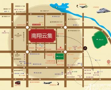 南翔云集交通图