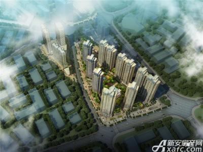 中航长江广场全鸟瞰图