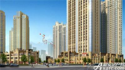 中航长江广场沿街透视图