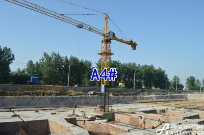 彼岸星城彼岸星城6月项目进度 3#4#5#楼基础工程进行中