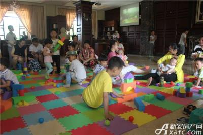 柏庄香域柏庄香域六一跑男节——室内儿童积木场