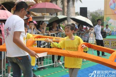 柏庄香域柏庄香域六一跑男节——带乒乓球过指压板