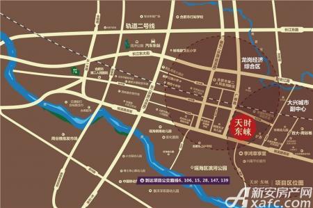 天时东崃交通图
