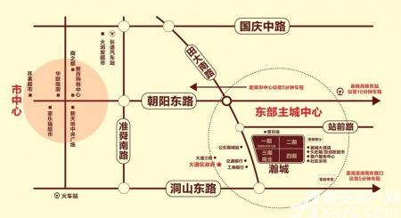 瀚城交通图