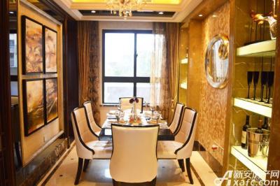 绿地滨江壹号绿地滨江壹号6#B4户型样板间餐厅