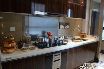 绿地滨江壹号绿地滨江壹号6#B4户型样板间 厨房