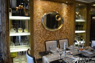 绿地滨江壹号绿地滨江壹号6#B4户型样板间 餐厅