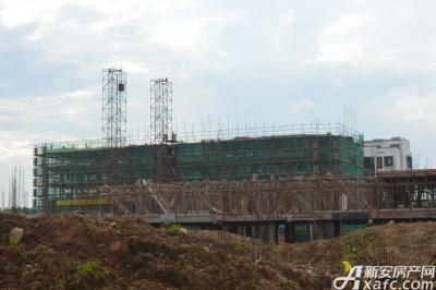 宇业依云红郡宇业依云红郡6月在建工程现场