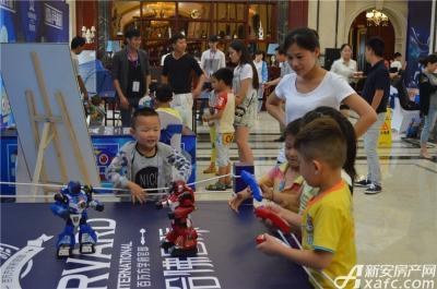 万成·哈佛玫瑰园2015GMIC智能机器人嘉年华6.28全球巡演宿州站