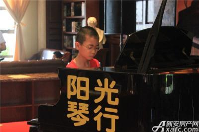 柏庄香域7月4日 柏庄香域少儿钢琴大赛开赛2