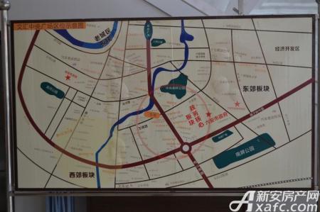 文汇中央广场交通图