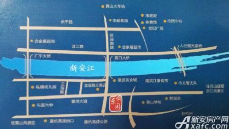 山田东园交通图