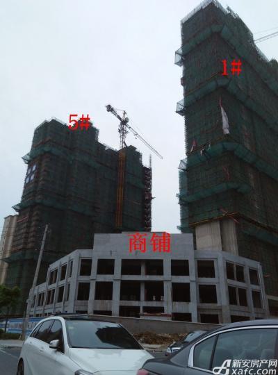 和泰国际广场1#、5#工程进度(2015.7.10)