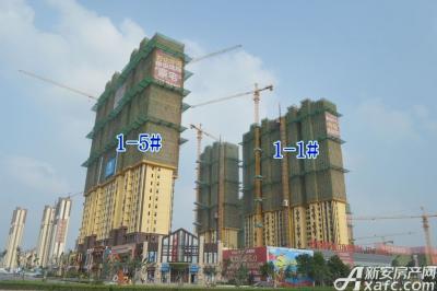 宿州万达广场宿州万达广场7月项目进度 商业中心全线封顶