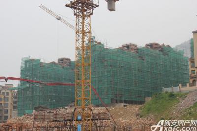 淮北凤凰城7月工程进度:G13、G14、G9、E5已封顶