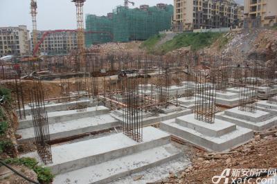 淮北凤凰城7月工程进度:二期H4-H8