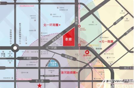 蓝光时代红街商业交通图