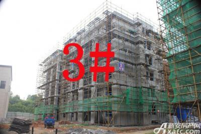 宇业天逸华府3#工程进度:已落架(2015.7.28)