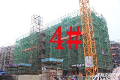 宇业天逸华府4#工程进度:已落架(2015.7.28)